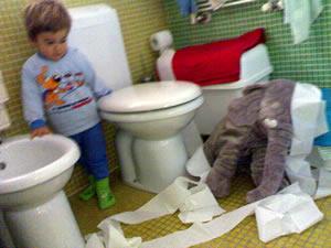 inconvenienti in toilette