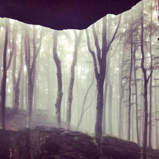 pranzo in grotta sul crinale